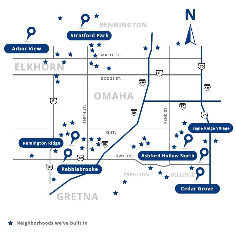 Charleston Homes Community Map