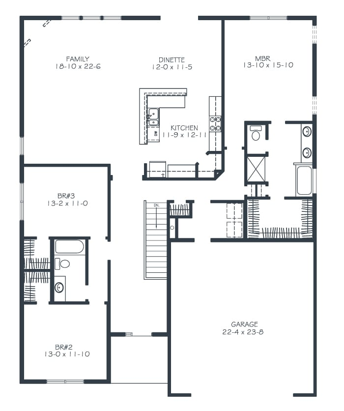 Alexandra House Floor Plan