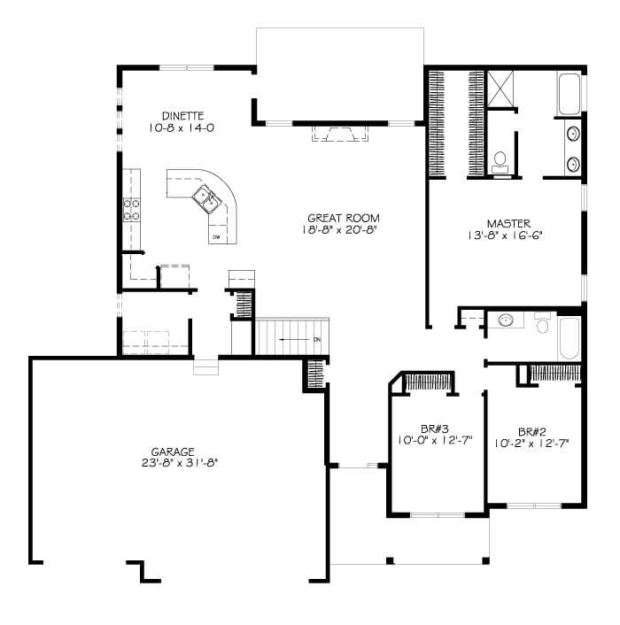 The Edgebrook – Charleston Homes Floor Plans