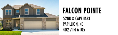 Falcon Pointe Model Homes in Papillion, NE