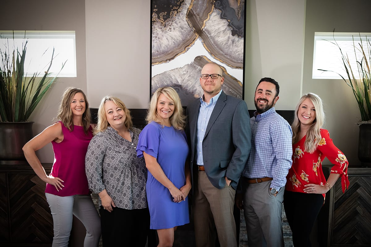 Sales team, Charleston Homes