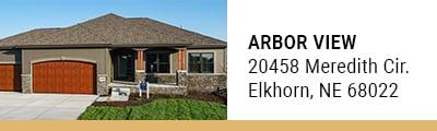 Arbor View model homes in Elkhorn